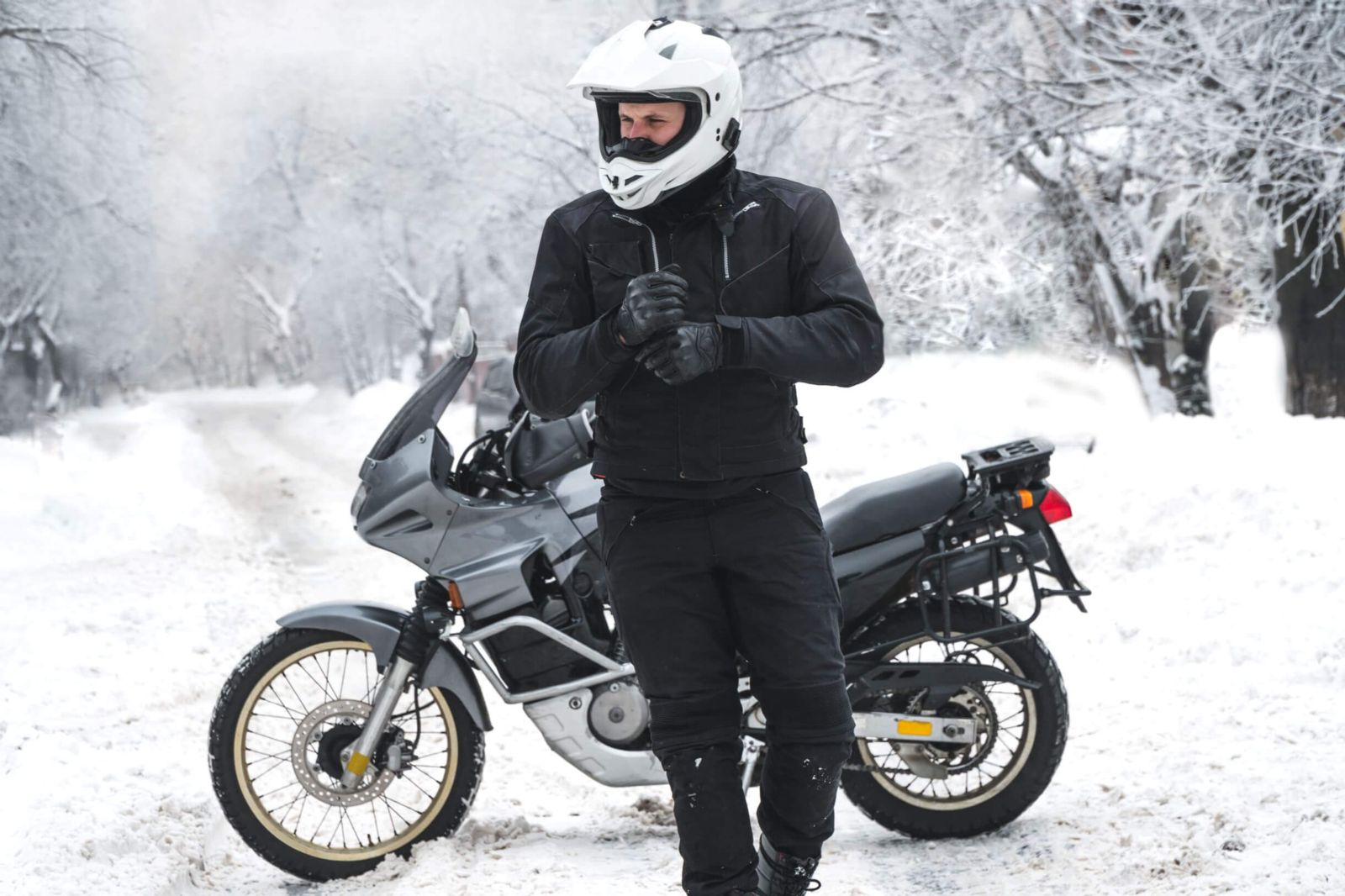 Motorcycle Safety In Cold Weather Foster Wallace Llc