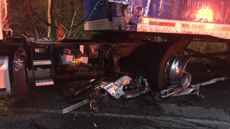 Fatal Crash Involving Beer Truck On State Route 3 In Poulsbo