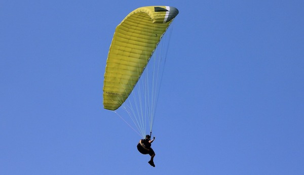 Paraglider Killed in Accident Near Chelan