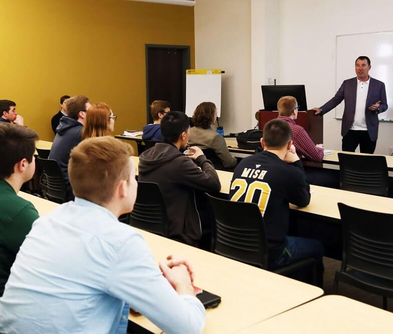 Attorney Jason Abraham Thanked for College Lecture | Hupy and