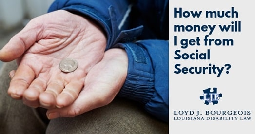 How much do you get on disability in Louisiana? | Loyd J