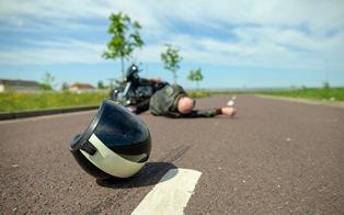 Road Rash After a Motorcycle Crash in Atlanta Georgia | Van Sant Law
