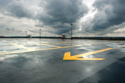 Slip and Fall Accidents in Parking Lots: Parking Lot Paint