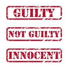 guilty or not guilty
