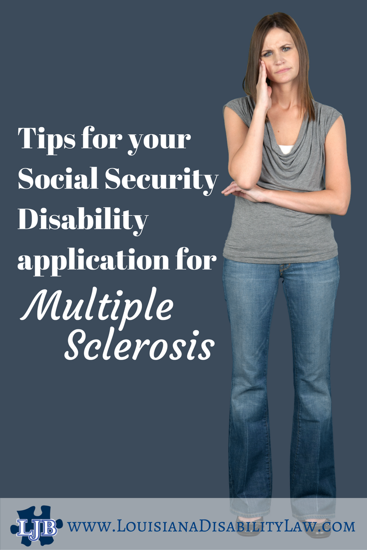 Can I get Social Security Disability for Multiple Sclerosis? | Loyd