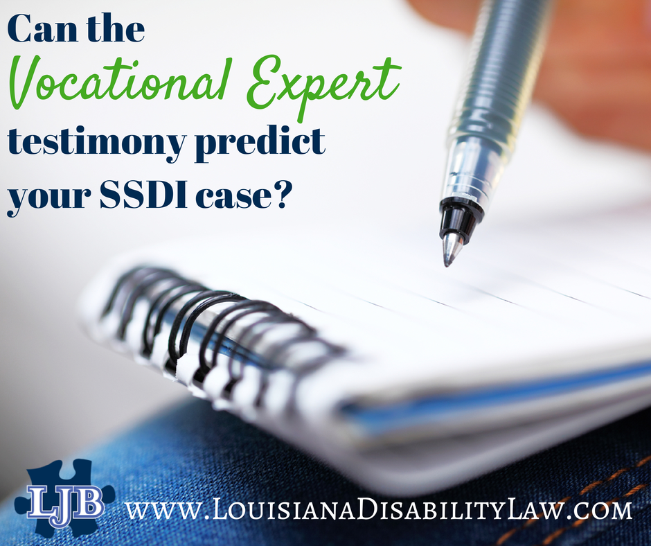 Understanding the Role of Vocational Experts in SSDI Hearings | Loyd