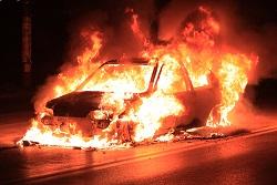 crash fatal burn