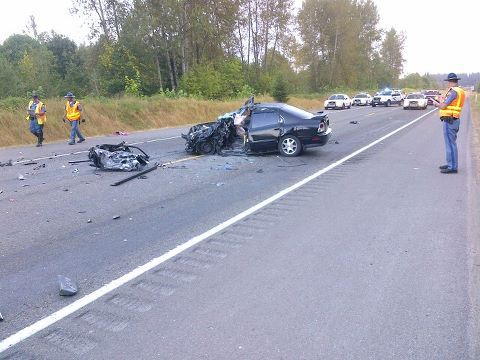 Driver Killed in Head-On Collision in Snohomish