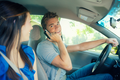 Teen drivers causing accidents