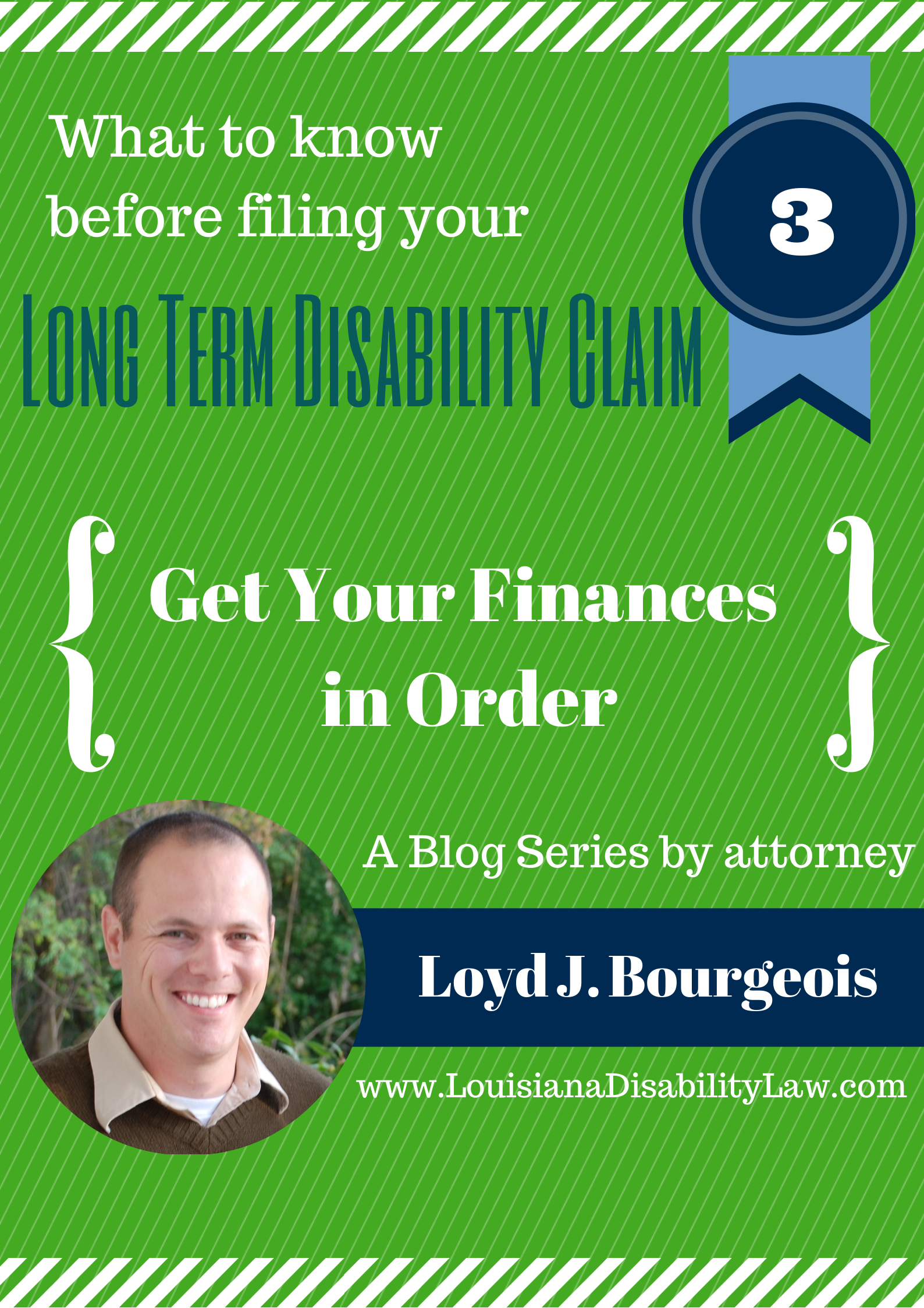 Long-Term Disability: Get Your Finances in Order | Loyd J