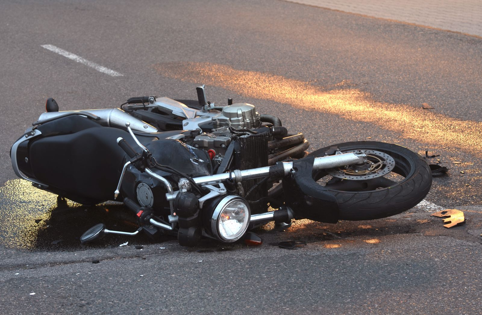Image result for How to Handle a Motorcycle Wreck