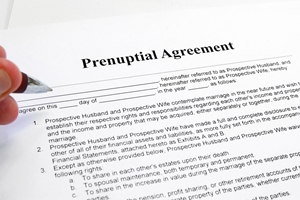 When to write a prenup pros and cons topics for a research paper
